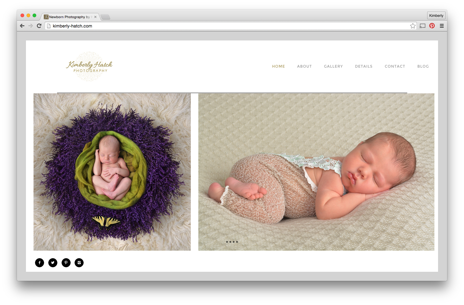 The New Baby Photography Website