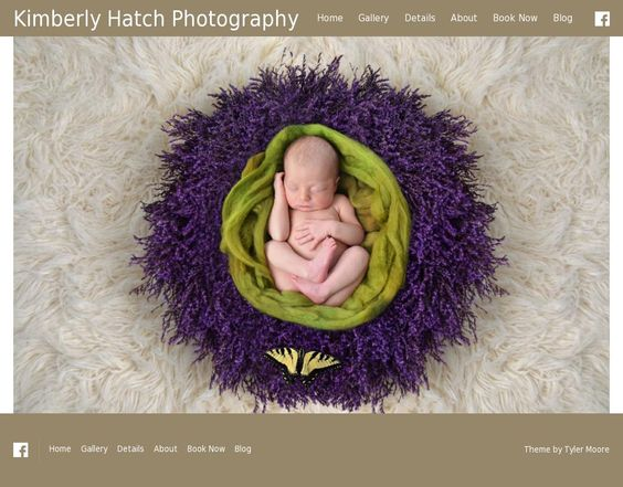 Baby Photography Website