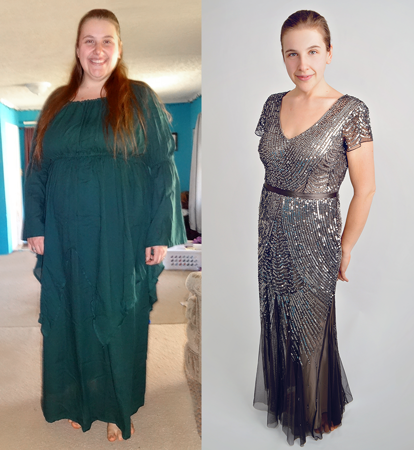 Photographer loses 80 pounds in 8 months